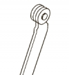 Flat rods with rollers - 155, 166 and 175 product series
