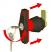 INFO Operating instructions - T-handle with anti-rotational system